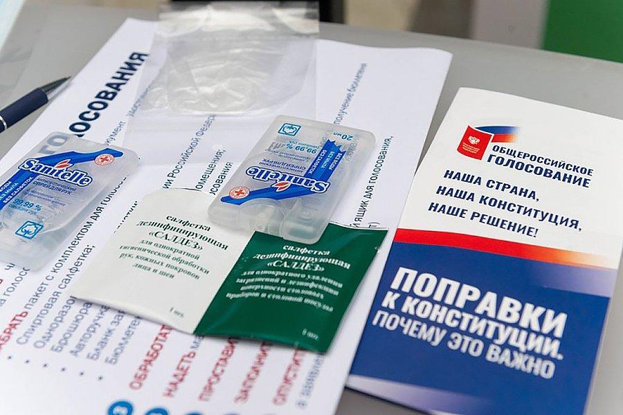 Песков оценил возможность заражения COVID-19 во время голосования по Конституции