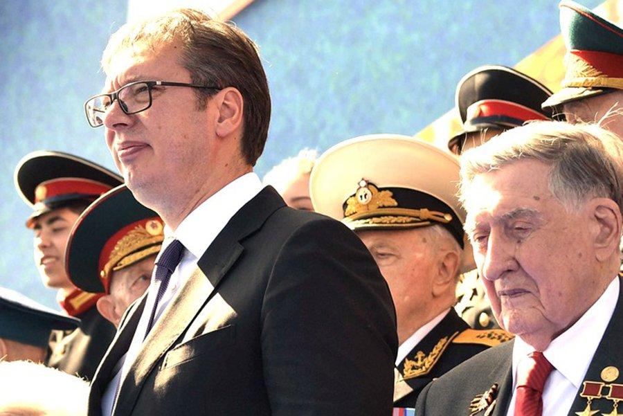 Президент Сербии поделился впечатлениями от парада Победы на Красной площади