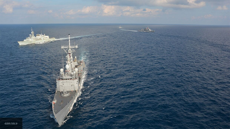 Париж призвал НАТО отреагировать на агрессию Анкары в Средиземном море