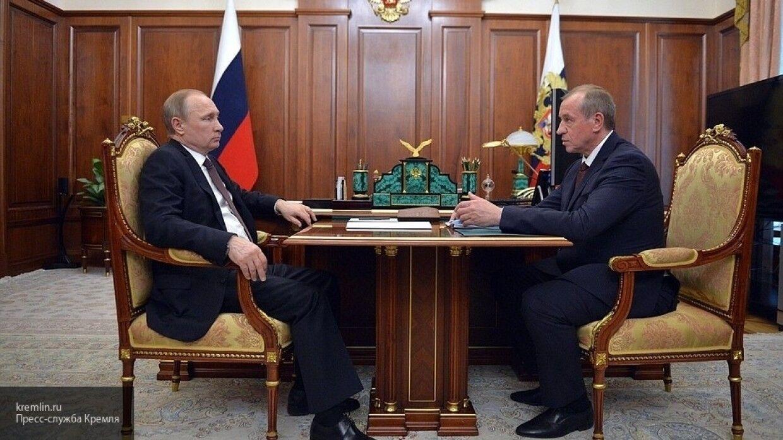 Левченко после увольнения попросил Путина допустить его к участию в губернаторских выборах