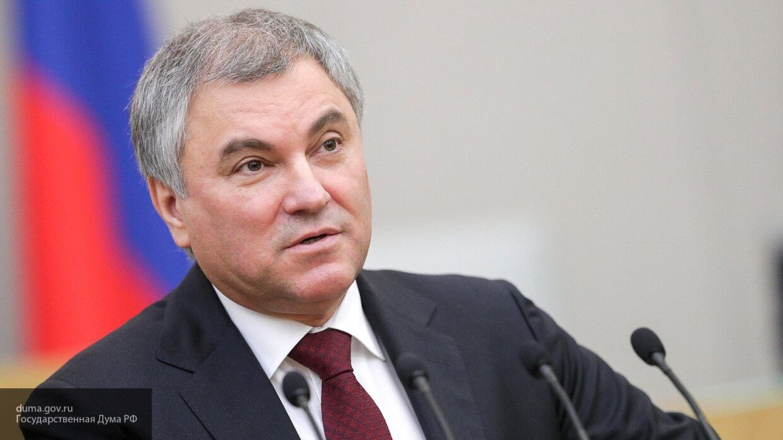 Володин призвал голосовать за поправки к Конституции для обеспечения развития в России