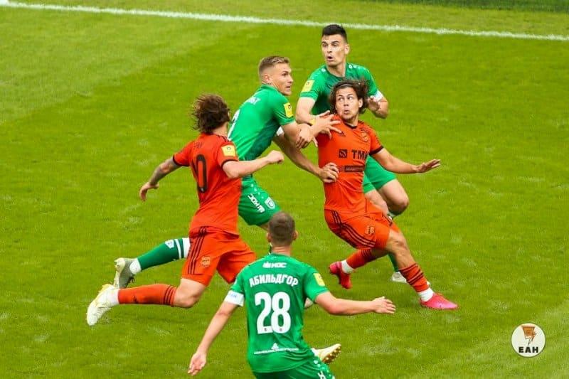 «Урал» проиграл «Рубину» в первом матче эпохи пандемии (ФОТО)