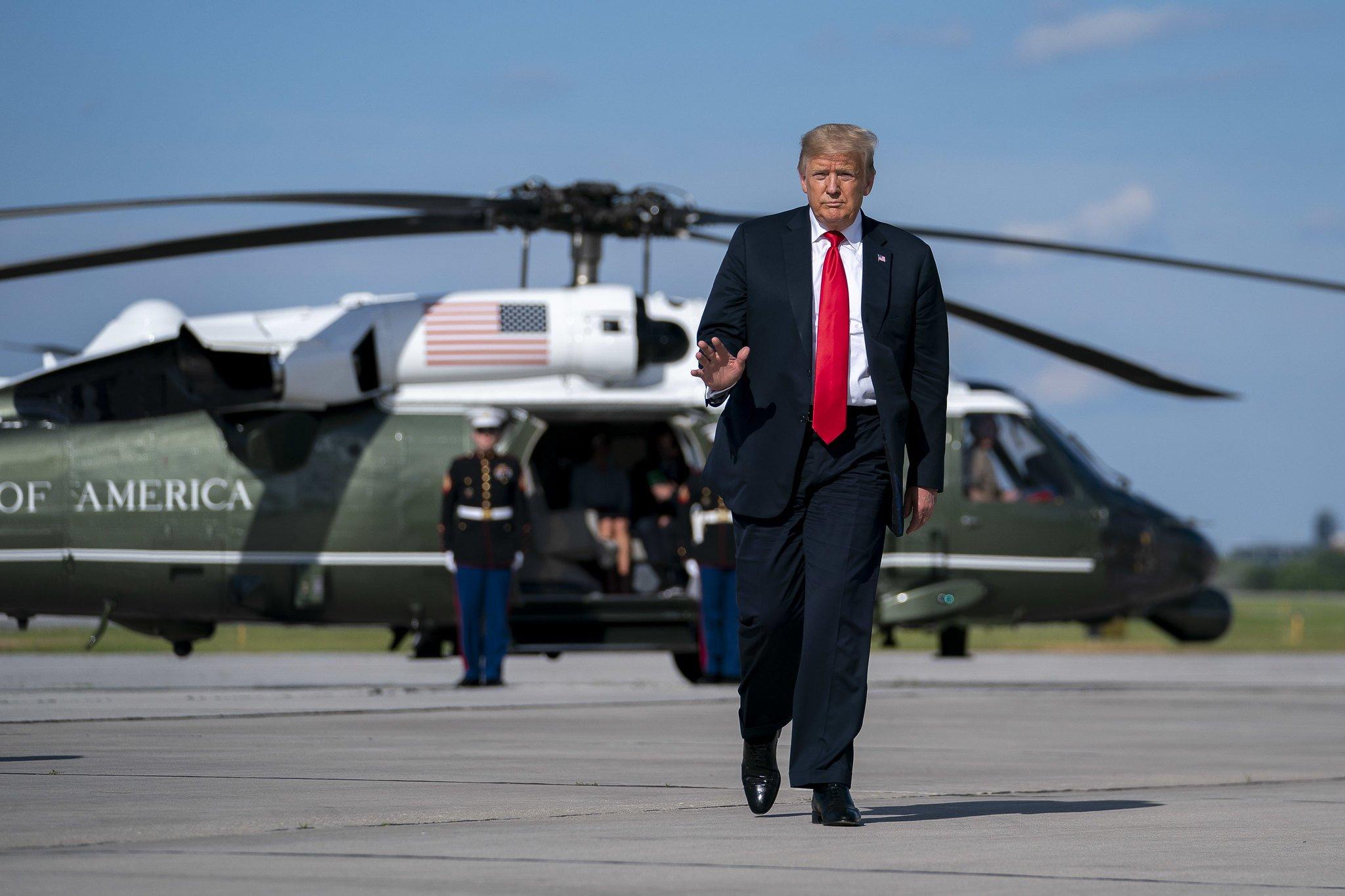 Трамп назвал «вбросом» статью о сговоре России с талибами в Афганистане