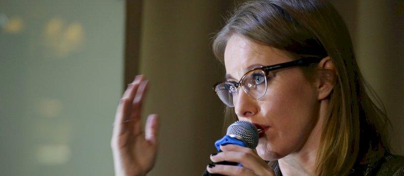 В Екатеринбург прилетела Ксения Собчак, чтобы снять фильм о схиигумене Сергии