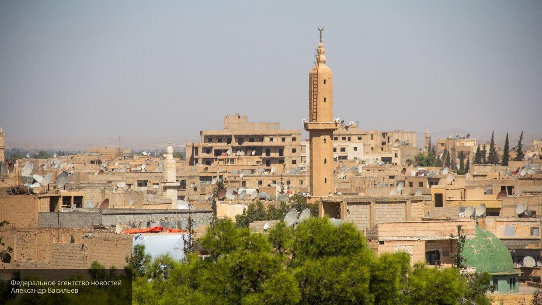 Жители сирийской провинции Дейр-эз-Зор протестуют против бесчинств курдских бандгрупп