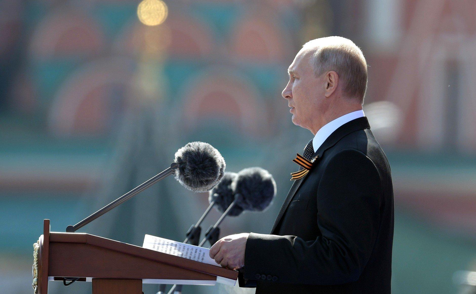 Составлен список самых частых фраз Путина на параде Победы за 20 лет