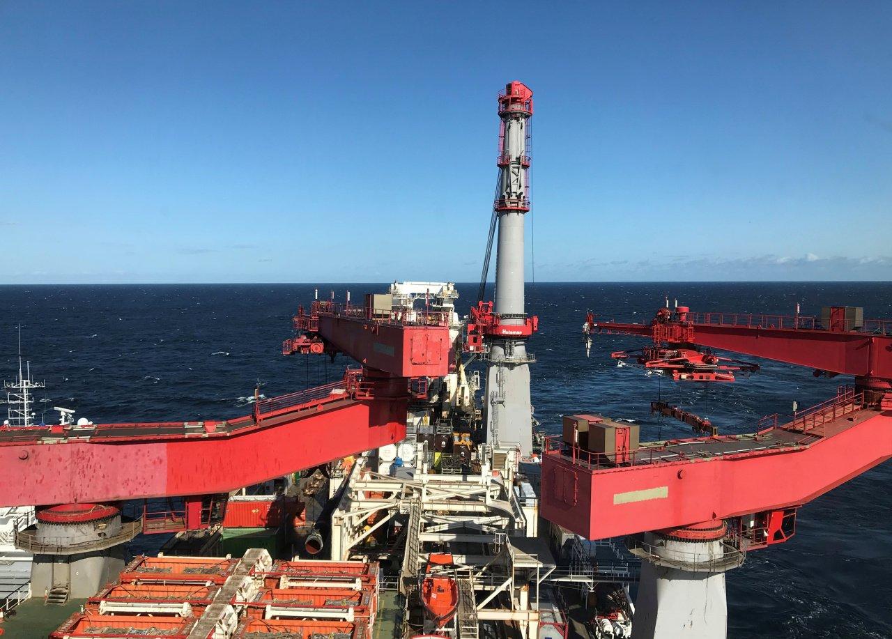 Строившая «Северный поток — 2» компания вывела суда из Балтийского моря