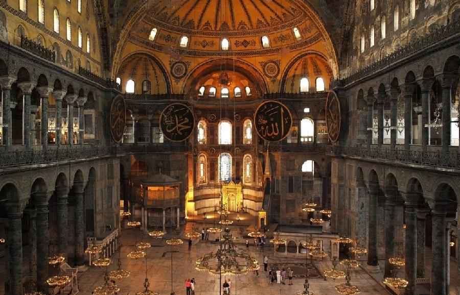 Эрдоган назвал исправлением ошибки изменение статуса Айя-Софии