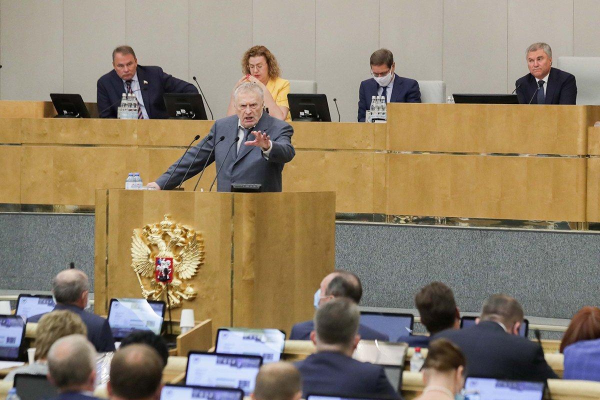 Жириновский пригрозил уходом депутатов и губернаторов от ЛДПР из-за дела Фургала