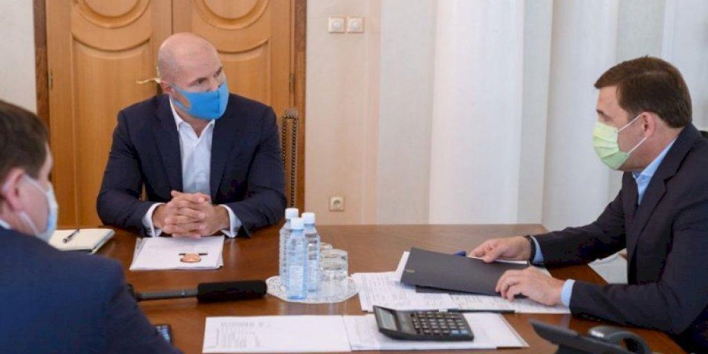 Свердловский губернатор познакомился с новым директором кризисного «ВСМПО-Ависма»
